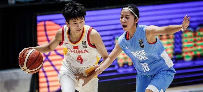 李缘准三双,U18女篮大胜中国台北晋级世青赛