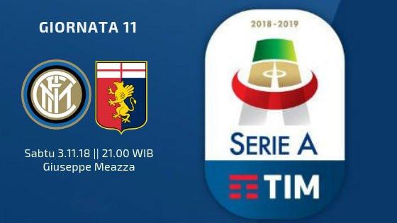 国米vs热那亚首发:伊卡尔迪轮休,马丁内斯出战