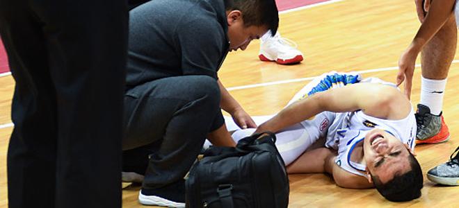 江苏张稀然膝关节交叉韧带断裂赛季报销