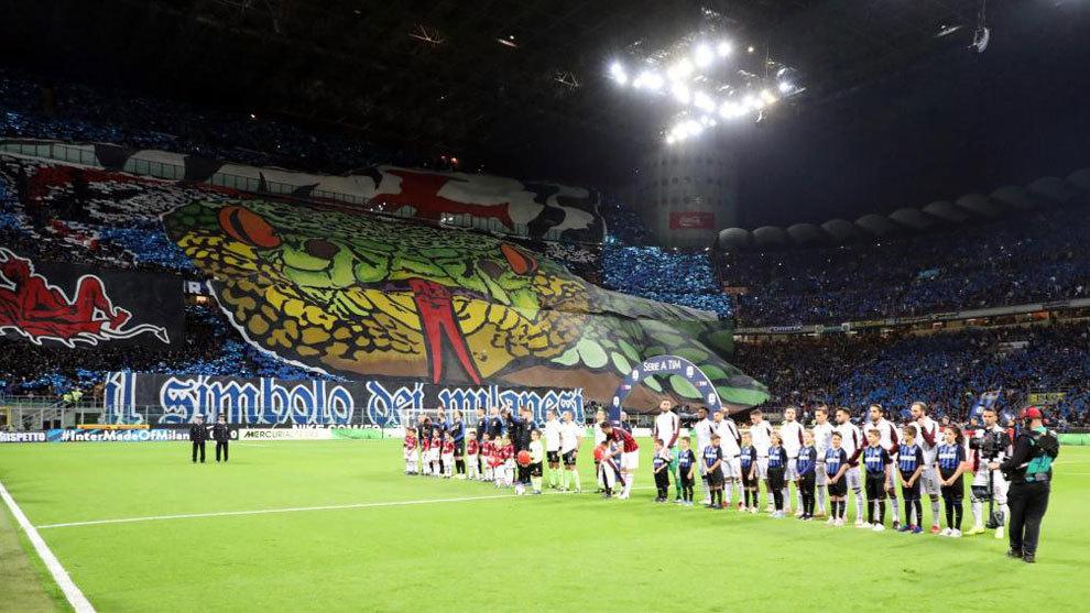 意大利球票收入新纪录:国米巴萨门票已售580万欧元