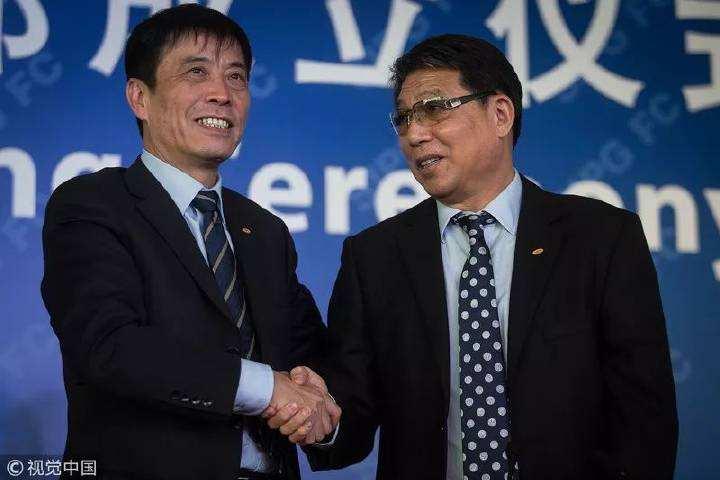 劳动报:上港董事长全力支持武磊、颜骏凌留洋