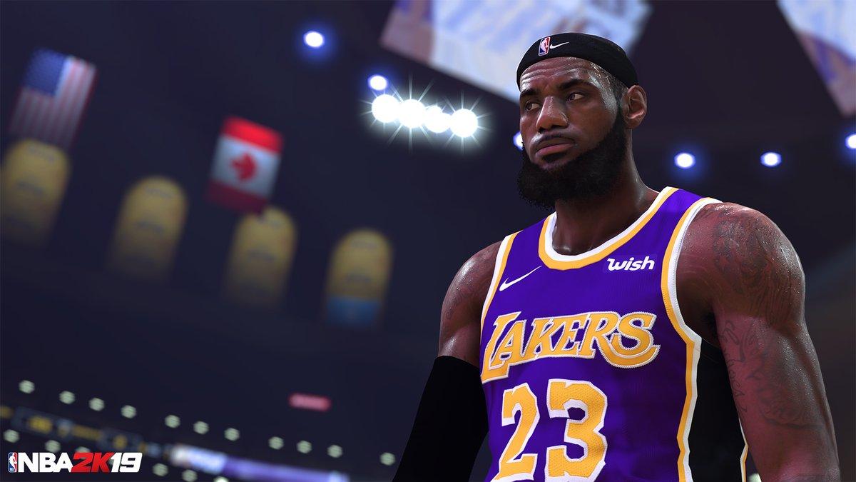 NBA2K19公布詹姆斯新形象:发带詹会拥有99能力值吗?