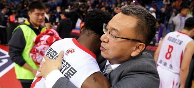 nba对阵图. 范斌:为孩子们的表现感到骄傲, 球队会一直向前