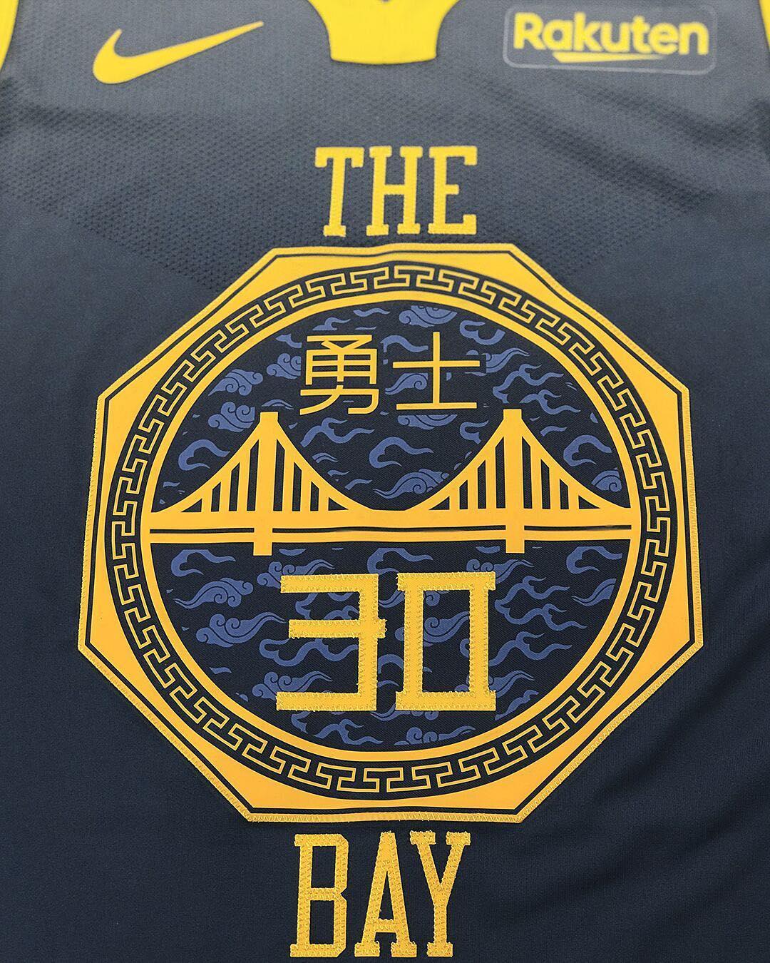 中国风!勇士官方发布新赛季城市版球衣