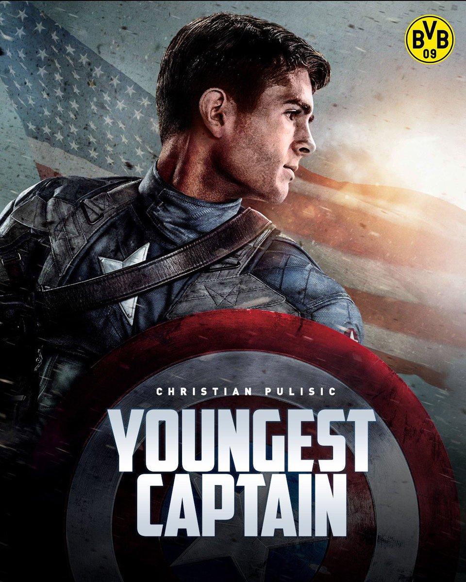 真. ·队长!普利西奇成队史最年轻的队长