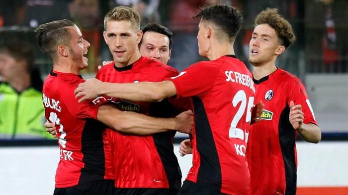 德甲球队德国球员参与进球比例:最高, 拜仁中游
