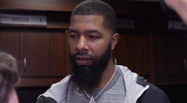 莫里斯:哈登是MVP,我们限制住了火箭的其他球员