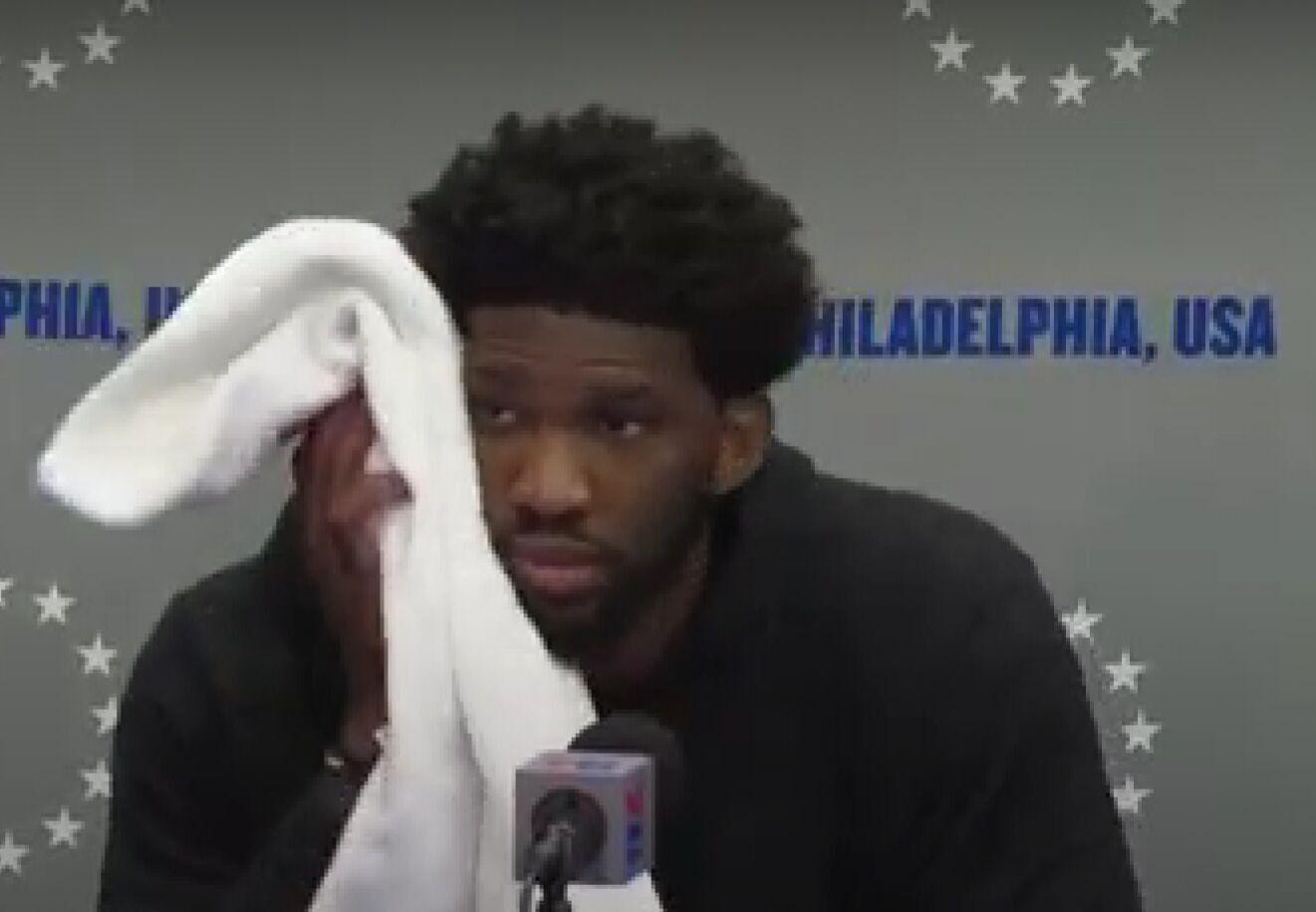 恩比德:每次吾父母现场不都雅战,费城球迷都专门亲炎