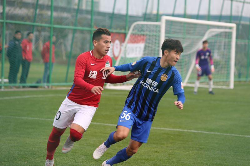 U23联赛综述:上港5-1大胜泰达,恒大0-1不敌亚泰