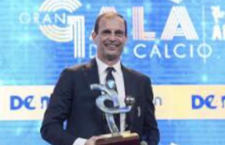阿莱格里获17-18赛季意甲奥斯卡最佳教练奖