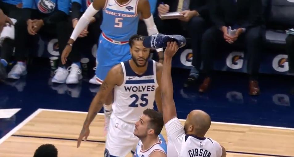 [视频]吉布森拿鞋退守,唐斯只手遮天大帽别利察