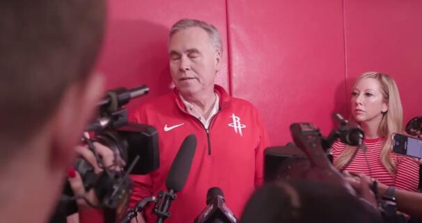 德安东尼:哈登的外现起码是MVP级别的