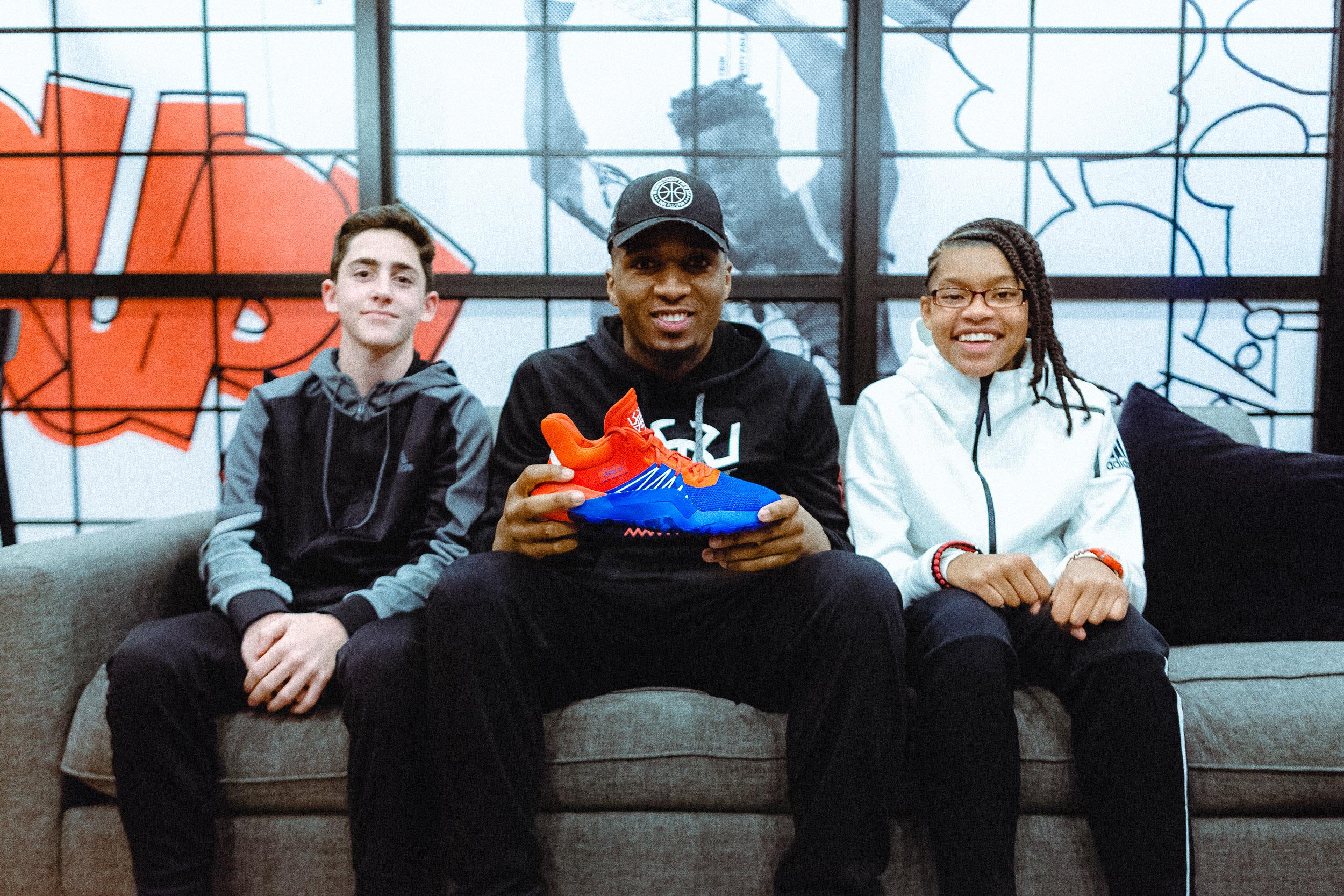 众诺万-米切尔签名鞋The D.O.N Issue#1今日发布