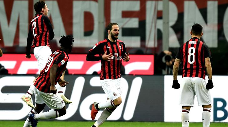 伊瓜因:进球献给加图索,我希望继续留在米兰