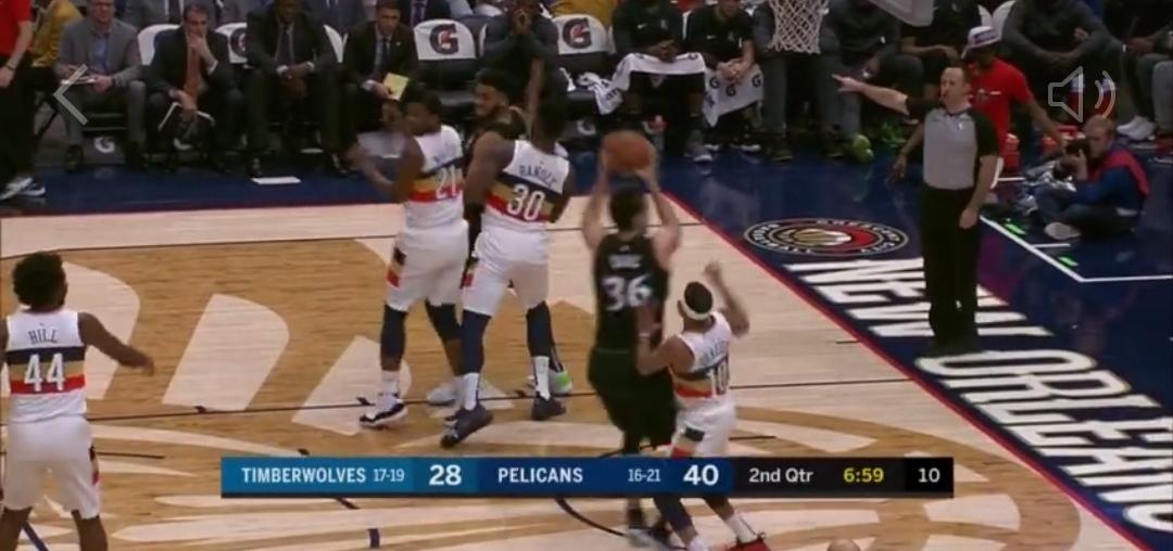 [视频]唐斯脑后妙传萨里奇上篮,兰德尔扣篮回击