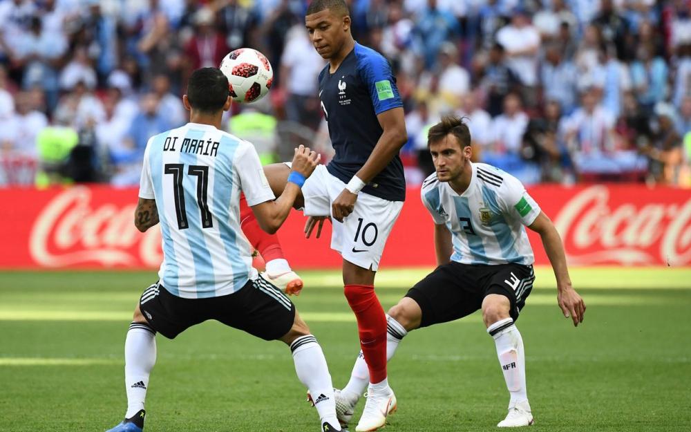 """姆巴佩:踢阿根廷前,迪马利亚对我说""""你的下一场在四年后"""""""