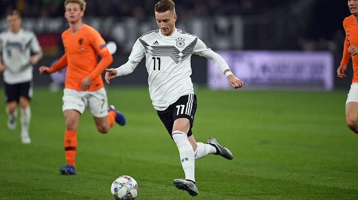 官方:罗伊斯获评德国2018年度最佳国脚