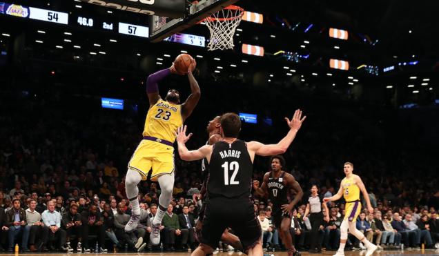 篮网和湖人将成为2019年NBA中国赛参赛球队