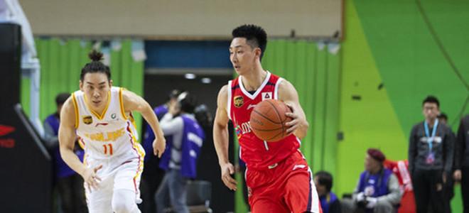 nba名人赛. 广州队后卫姚天一砍 13分创个人生涯新高