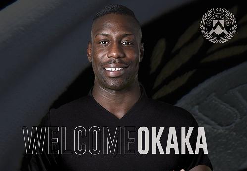 官方:乌迪内斯宣布签下沃特福德前锋奥卡卡
