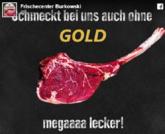 蹭热度!德国公司推出牛排:不带金箔也好吃