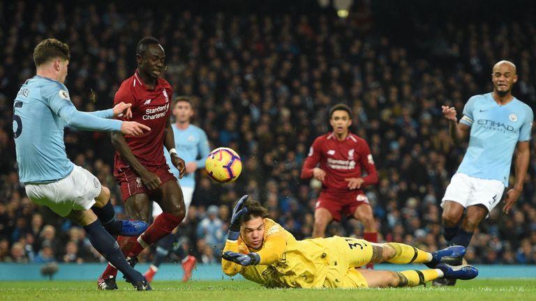埃德松:战利物浦的比赛是曼城迄今在英超踢得最好的一场