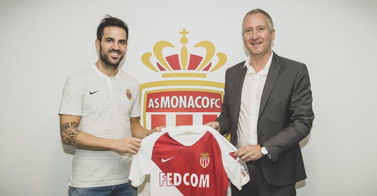 官方:摩纳哥俱乐部签下切尔西中场法布雷加斯