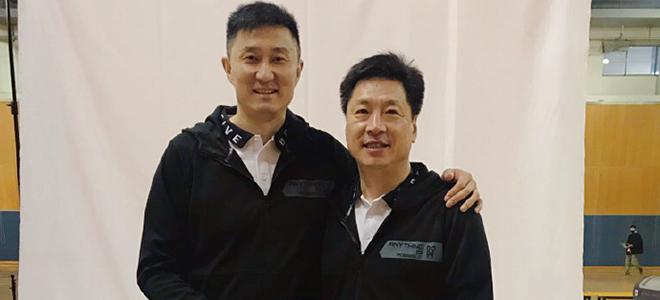李春江晒与杜锋、胡金秋合影:青出于蓝