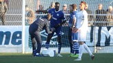 沙尔克友谊赛踢平,中卫萨内受伤离场
