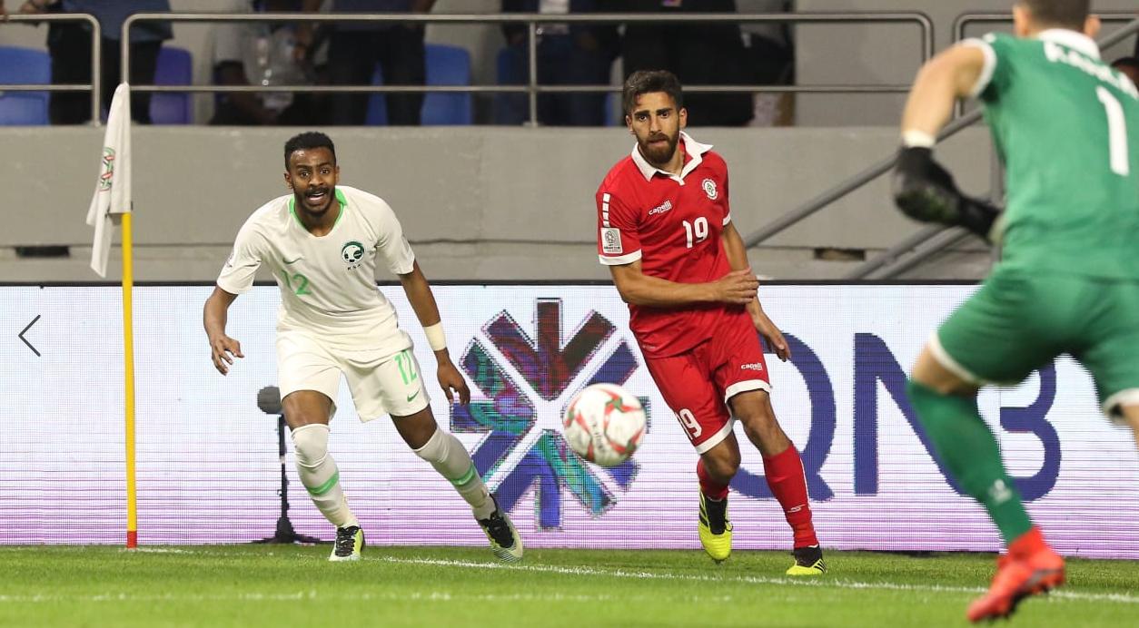 亚洲杯:法赫德侯赛因建功,沙特2-0胜黎巴嫩出线