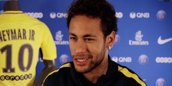 内马尔:巴黎欧冠抽到曼联很好,因为我喜欢对阵强队