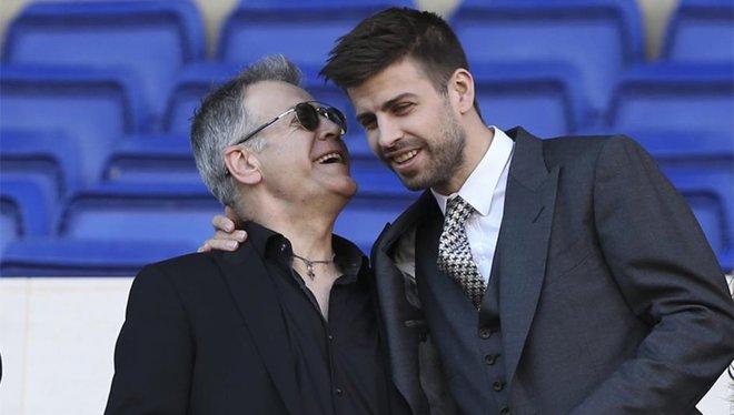 皮克欲让父亲管理安道尔FC,并投资两亿建球场和体育场