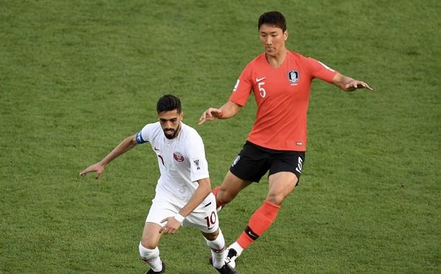 亚洲杯:阿齐兹一球制胜,卡塔尔1-0淘汰韩国晋级四强