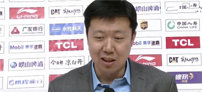 王治郅:好久好久没连胜了,八一队也有目标