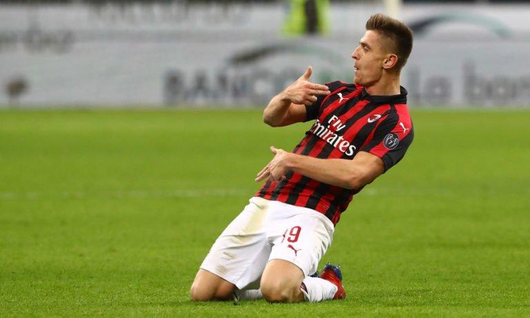 刚来就拿奖!皮亚特克对那不勒斯进球被评为米兰1月最佳