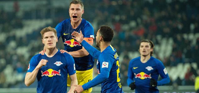 德甲:奥尔班梅开二度,汉诺威0-3莱比锡