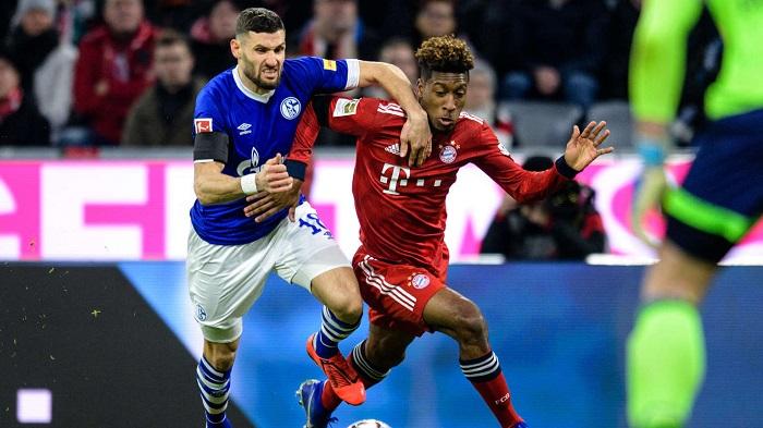 拜仁vs沙尔克赛后评分:莱万J罗格纳布里高分