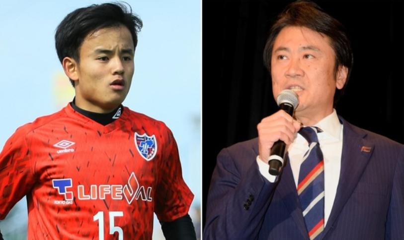 东京 FC社长否认久保建英回归:目前没这事