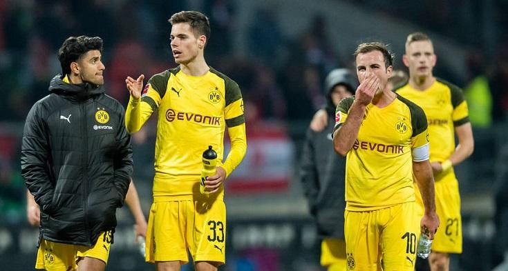 戴上队长袖标,格策首次以队长身份代表多特在德甲出场