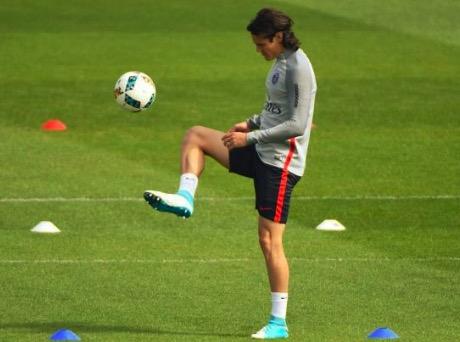 RMC:卡瓦尼已恢复训练, 有望赶上对阵