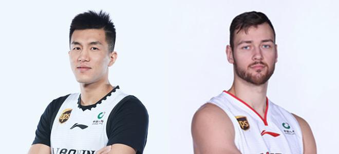 第 4期月最佳球员:郭艾伦、莫泰尤纳斯携手当选
