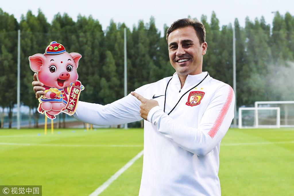 天津日报:卡纳瓦罗与助手已抵达中国杯比赛地南宁