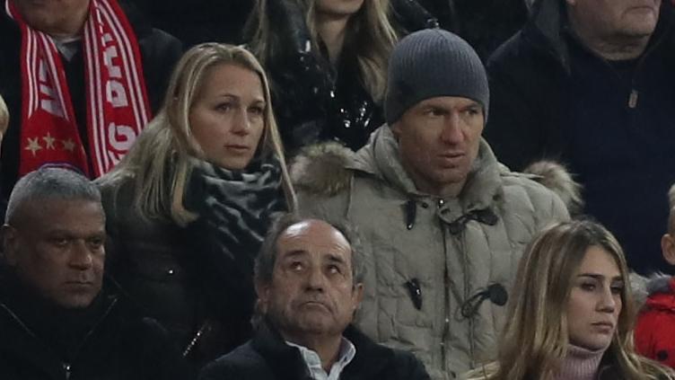 罗贝里传奇欧冠生涯谢幕!罗本看台上见证拜仁出局