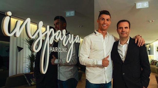 C罗植发诊所在马德里开张:不要羞于来找我们