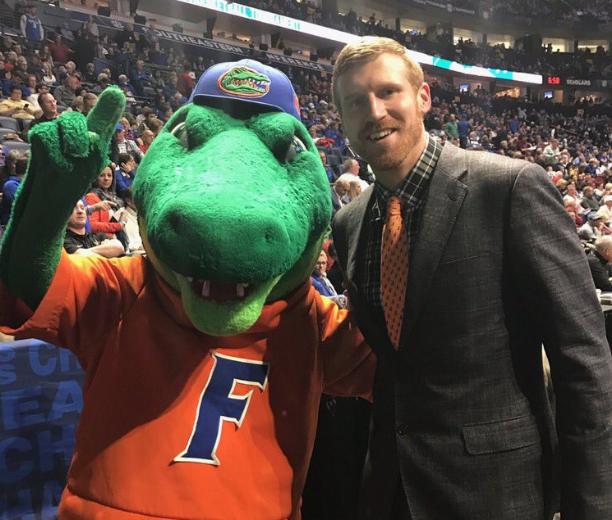邦納來到NCAA錦標賽現場支持母校佛羅裡達大學