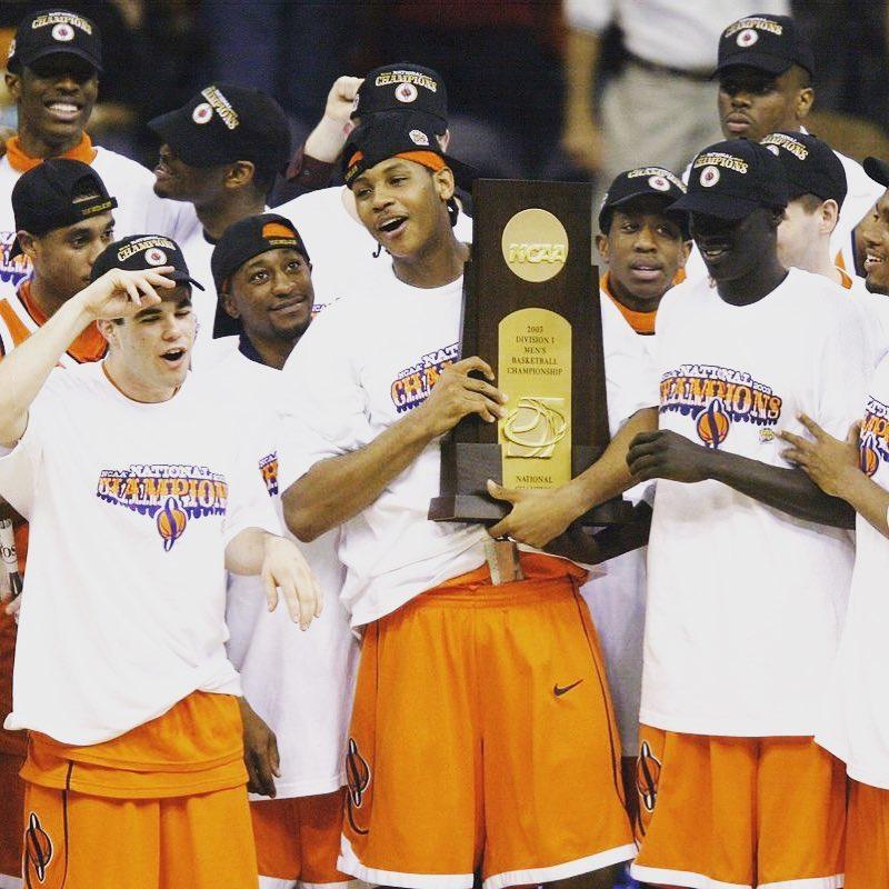時光易逝!安東尼回顧2003年NCAA奪冠瞬間