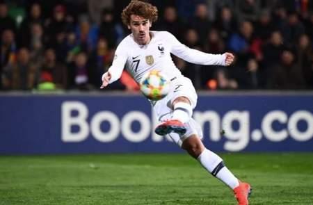 格列兹曼追平本泽马,成为法国队历史进球榜上第9射手