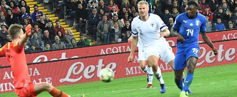 多点开花,意大利过去15粒进球分别来自15名不同球员