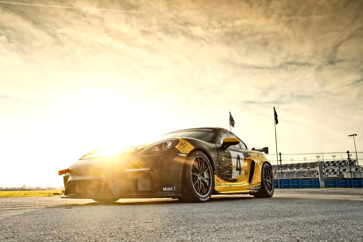 MR布局,车身可持续使用,全新 718 Cayman GT4 Clubsport 亚洲首发