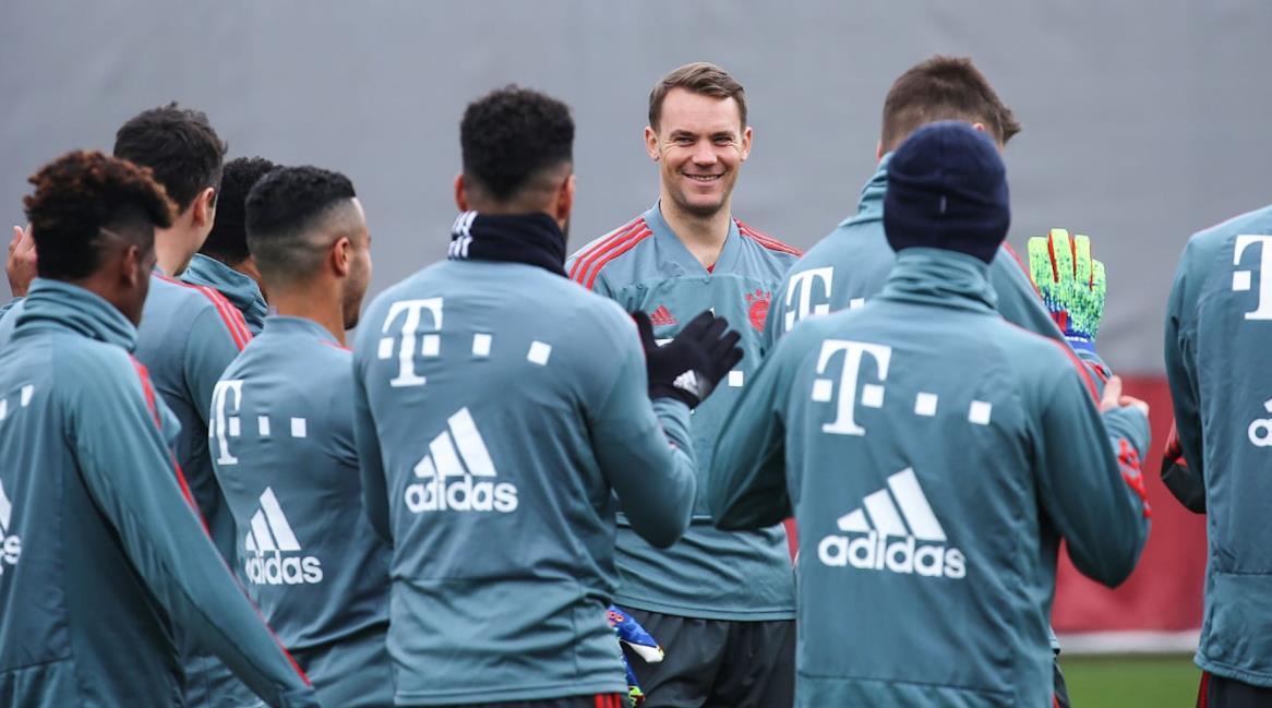 德国国脚回归拜仁训练,  J罗被允许稍晚归队